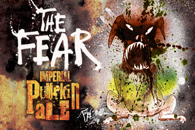 Label of The Fear Imperial Pumpkin Ale.