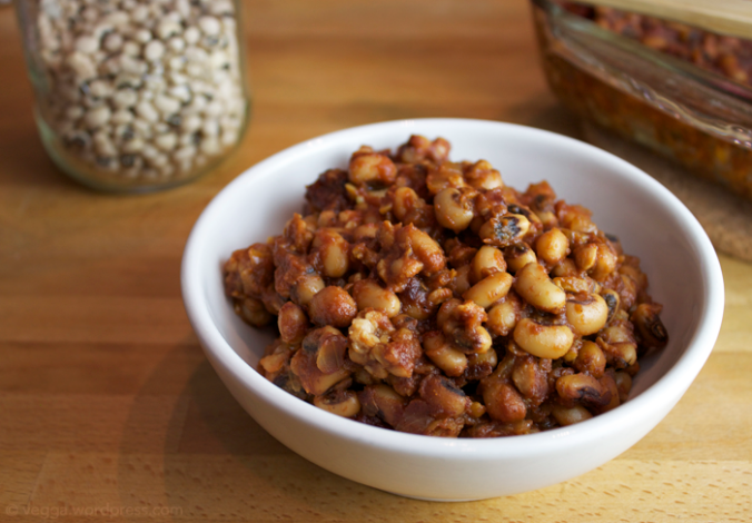BBQ Baked Black-Eyed Peas