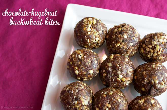 Chocolate-Hazelnut Buckwheat Bites