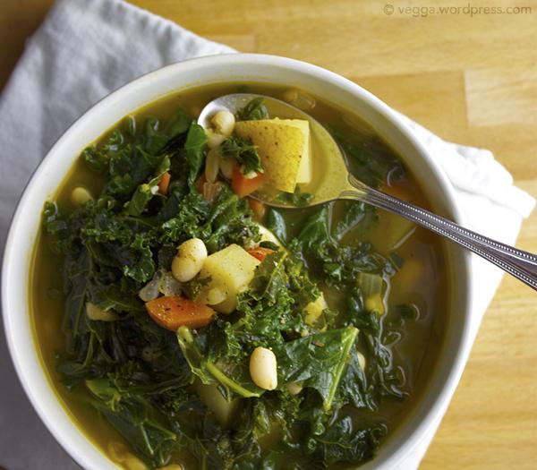 Kale and White Bean Soup