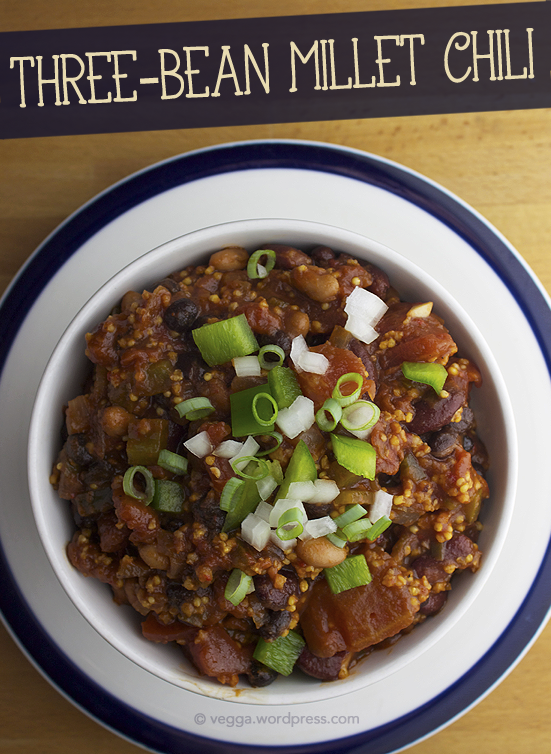 Three-Bean Millet Chili