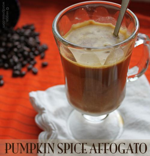 Pumpkin Spice Affogato