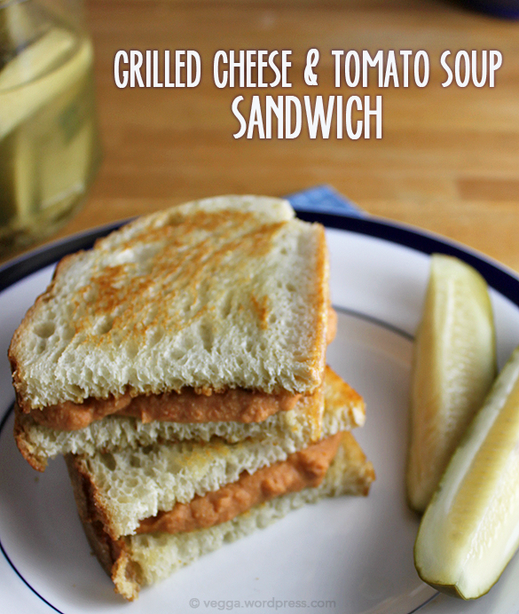 Grilled Cheese & Tomato Soup Sandwich