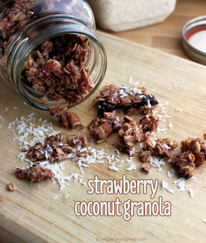 Strawberry-Coconut Granola