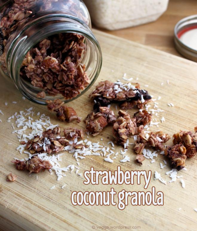 Strawberry-Coconut Granola