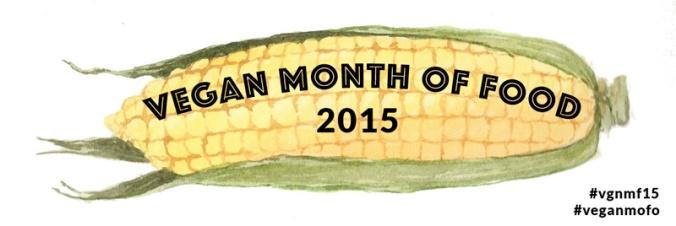 VeganMoFo 2015 banner
