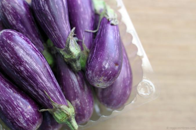 Purple Pixie Eggplants