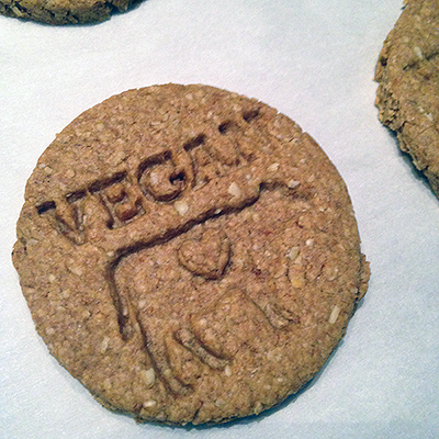 Vegan digestive biscuits