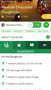 Food Monster app recipe