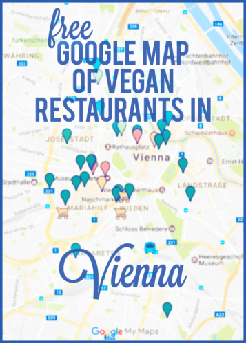 Free Google map of vegan restaurants in Vienna