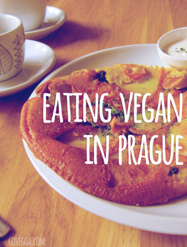 Vegan food options in Prague, Czech Republic // govegga.com
