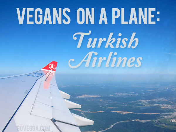 Turkish Airlines is a great option for #vegan #travelers. #govegga