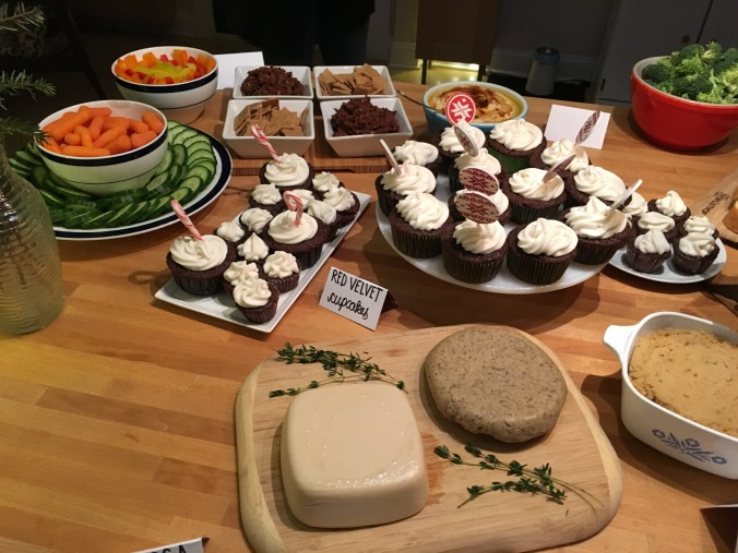 Holiday party spread 2015: cheese!