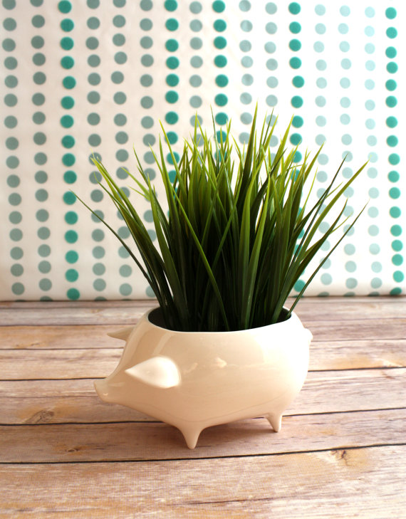 Fettle and Fire's pig planter