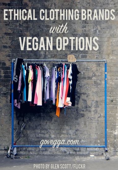 Ethical clothing brands with vegan, cruelty-free options // govegga.com