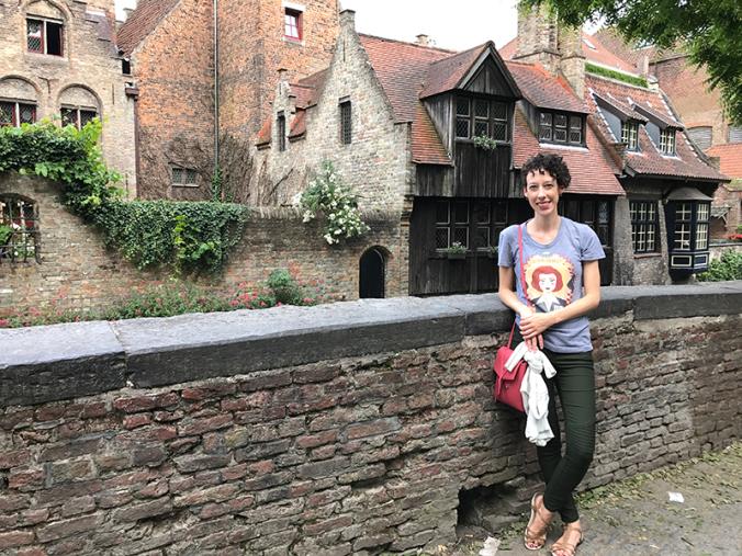 Kelly in Bruges