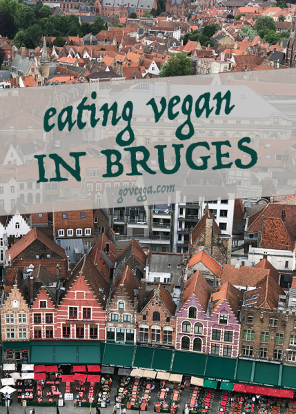 Vegan in Bruges, Belgium // govegga.com
