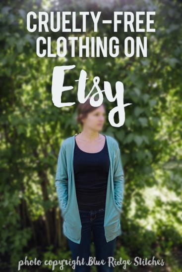 Cruelty-free and vegan clothing on Etsy // govegga.com