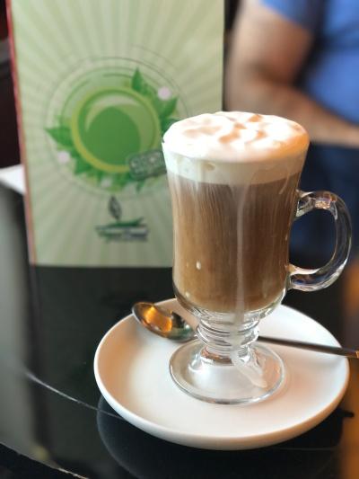 Vegan Irish coffee