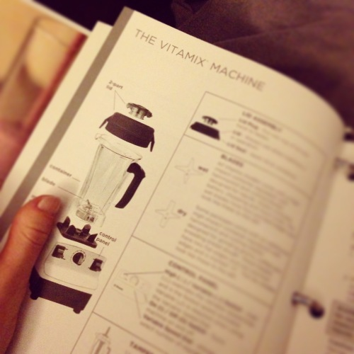 Vitamix booklet
