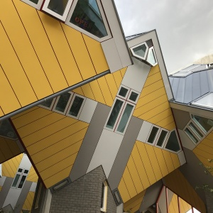 Rotterdam's cube houses
