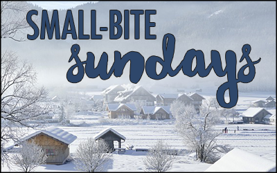 Small-Bite Sundays -- winter
