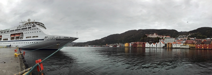All-vegan cruise in Bergen, Norway