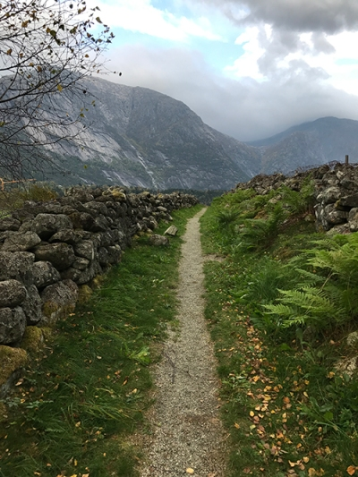 Path in near Norway's Eidfjord