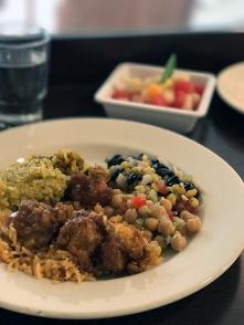 Food on a vegan Norwegian ocean cruise