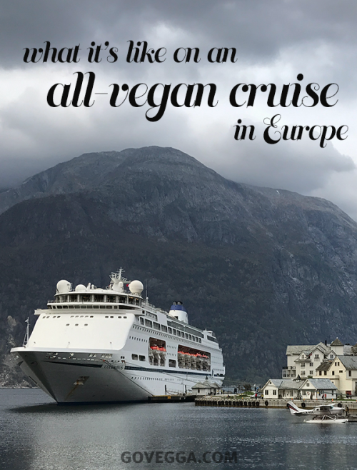 Vegan travel: What it's like on a vegan cruise in Europe // govegga.com
