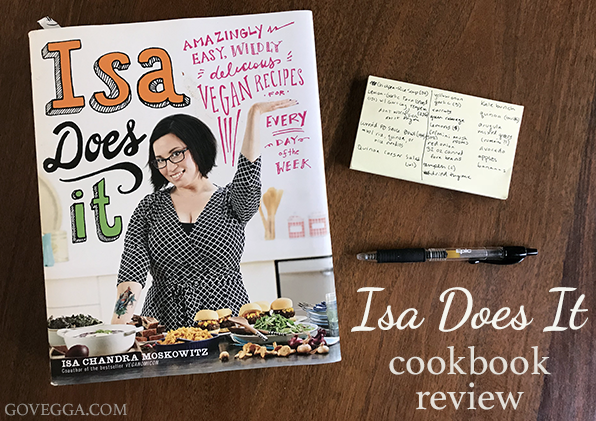 Isa Does It cookbook review // govegga.com