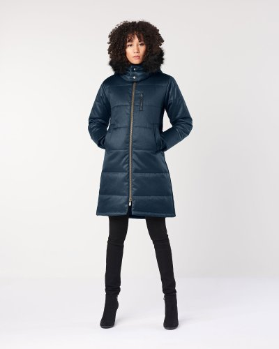 Hoodlamb's sustainably made vegan Nordic puffer