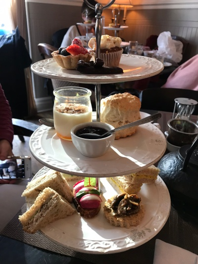 Vegan afternoon tea at Le Parloir in Montréal, Canada