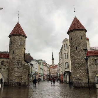 City gates, Tallinn, Estonia
