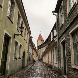 Tallinn city streets, Estonia