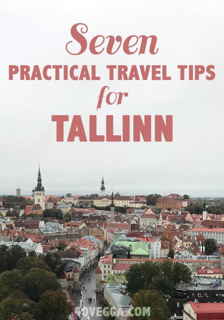 Seven practical travel tips for Tallinn, Estonia // govegga.com