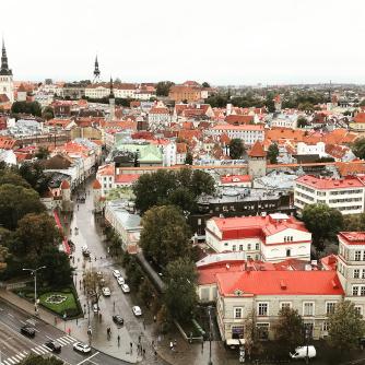 Hotel Viru KGB tour, Tallinn, Estonia